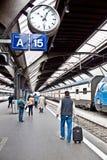 Zurich HB train station Stock Photos