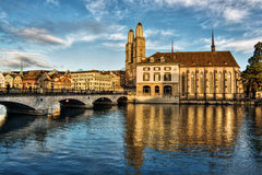 Zurich HDR Royalty Free Stock Photography