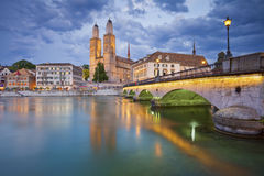 Zurich. Royalty Free Stock Photography