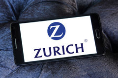 Zurich insurance logo Royalty Free Stock Images