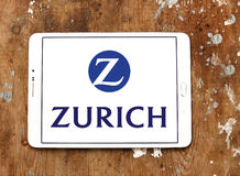 Zurich insurance logo Royalty Free Stock Photo