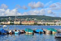 Zurich jezioro Fotografia Stock