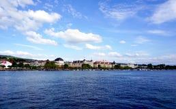 Zurich jezioro Zdjęcia Royalty Free