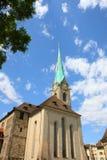 Zurich kościół Zdjęcie Stock