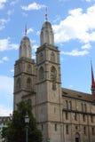Zurich kościół Fotografia Stock