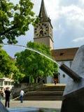 Zurich - la Suisse Image libre de droits