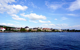 Zurich Lake Royalty Free Stock Photos