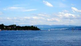 Zurich lake in Switzerland Stock Photos