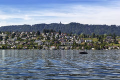 Zurich lake, Switzerland Royalty Free Stock Photography