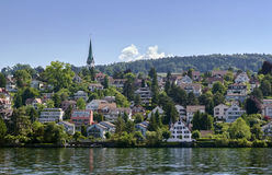 Zurich lake, Switzerland Royalty Free Stock Photos