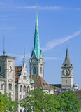 Zurich landmarks Stock Photo