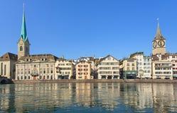 Zurich landmarks Stock Image