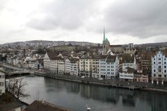 Zurich. Is the largest city in Switzerland and the capital of the canton of Zürich. It is located in north-central Switzerland at the northwestern tip of stock images