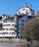 Zurich, Limmat Royalty Free Stock Images