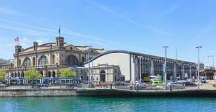Zurich magistrali stacja kolejowa Fotografia Stock