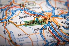 Zurich miasto Zdjęcie Stock