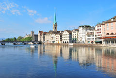 Zurich in the  morning Stock Photography