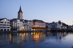 Zurich morning view Stock Photography