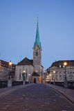 Zurich morning view Royalty Free Stock Photo