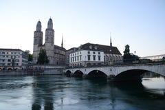 Zurich morning view Stock Photos