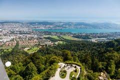 Zurich mountain Uetliberg, Switzerland Stock Photos