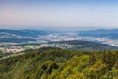 Zurich mountain Uetliberg, Switzerland Royalty Free Stock Photo
