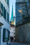 Zurich Old Town (Altstadt) Stock Photo