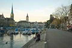 Zurich Old Town (Altstadt) Stock Image