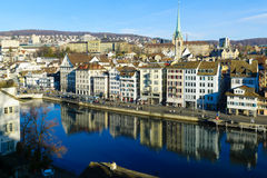 Zurich Old Town (Altstadt) Stock Photography