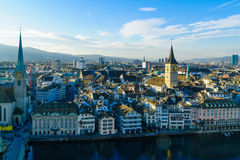 Zurich Old Town (Altstadt) Stock Photos