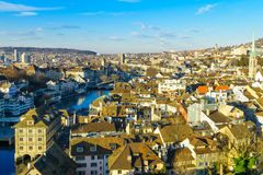 Zurich Old Town (Altstadt) Royalty Free Stock Images