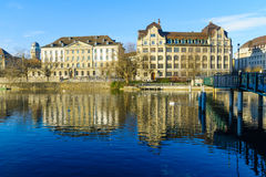 Zurich Old Town (Altstadt) Royalty Free Stock Image