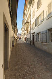 Zurich old town street Stock Images