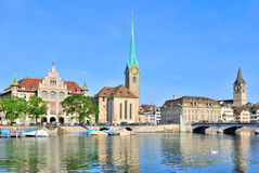 Zurich, Old town Stock Photos