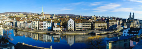 Zurich Old Town (Altstadt) Royalty Free Stock Photo