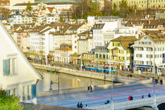 Zurich Old Town (Altstadt) Royalty Free Stock Image