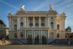 Zurich opera zdjęcie royalty free