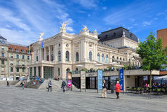 Free Zurich Opera House Building Stock Image - 71989771