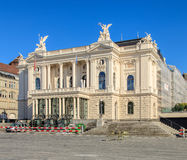 Zurich Opera House building Royalty Free Stock Photography