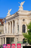 Zurich operahus Royaltyfri Bild