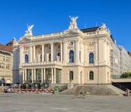 Zurich operahusbyggnad Royaltyfri Fotografi