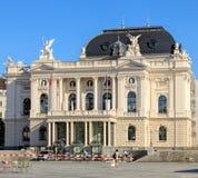 Zurich operahusbyggnad Fotografering för Bildbyråer