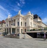 Zurich operahusbyggnad Arkivfoton