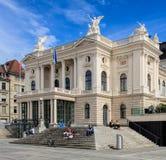 Zurich operahusbyggnad Arkivfoto