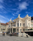 Zurich operahusbyggnad Royaltyfri Foto