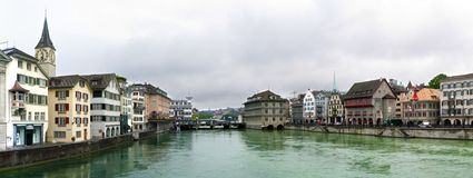 Zurich Panorama stock photo