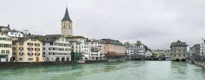 Zurich Panorama Stock Image
