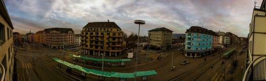 Zurich panorama obrazy royalty free