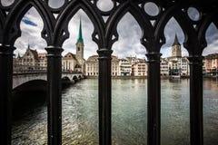 Zurich pejzaż miejski obraz stock