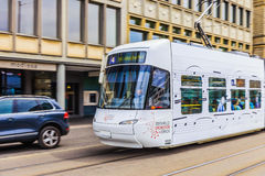 Zurich podupadła część śródmieścia, Szwajcaria Obrazy Stock